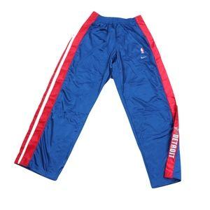 New Nike Mens 2XL Detroit Pistons Tearaway Pants